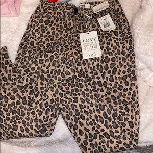YMI Leopard Jeans